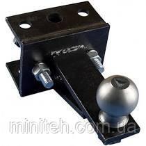 Перехідний зчіпний вузол мототрактора (1 точка) під авто прицеп (П) на мототрактор