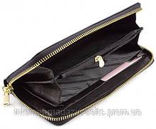 Чорний шкіряний гаманець на блискавці Marco Coverna 403-2500-1