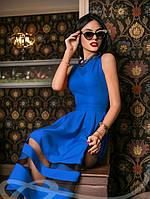 Платье Габардин Синее S M L