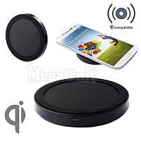 Qi Беспроводное зарядное для телефона (Wireless charger) Ultra Slim, фото 1