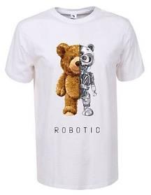 Чоловіча футболка з принтом ведмедики