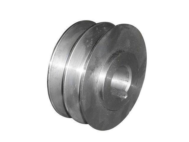 Шкив двухручьевой (наружный диаметр 76 мм, внутренний 25 мм, профиль В)