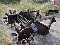 Картофелекопалка транспортерная Ярило PRO к мотоблоку (привод от колес, сцепка в комплекте), фото 1
