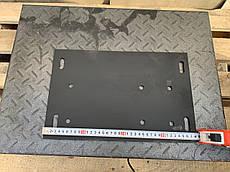 Плита установки двигуна повітряного охолодження на водяне