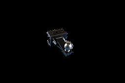 Перехідною зчіпний вузол мототрактора (1 точка) під автомобільний причіп Преміум