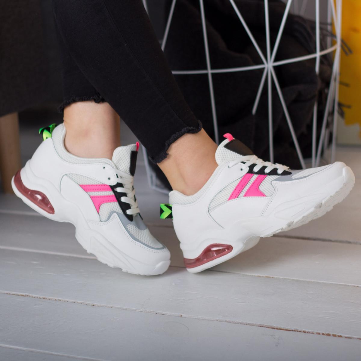 Кроссовки женские Fashion Babbitt 2580 36 размер 23,5 см Белый