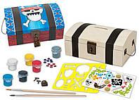 Игрушечный набор для творчества Masterpieces Сундук сокровищ (21412)