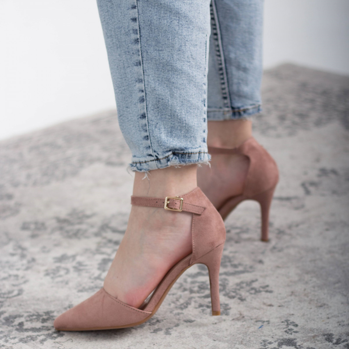 Туфли женские Fashion Ulian 2633 38 размер 24,5 см Розовый