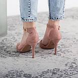Туфли женские Fashion Ulian 2633 38 размер 24,5 см Розовый, фото 3