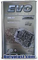 Моторное масло полусинтетика Evo (Эво) 10w40 4л