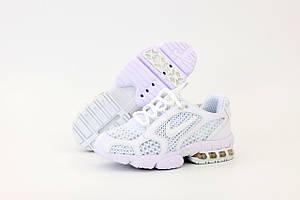 Женские кроссовки Nike Spiridon x Stussy белого цвета (Кроссовки Найк Аир Макс Стусси)