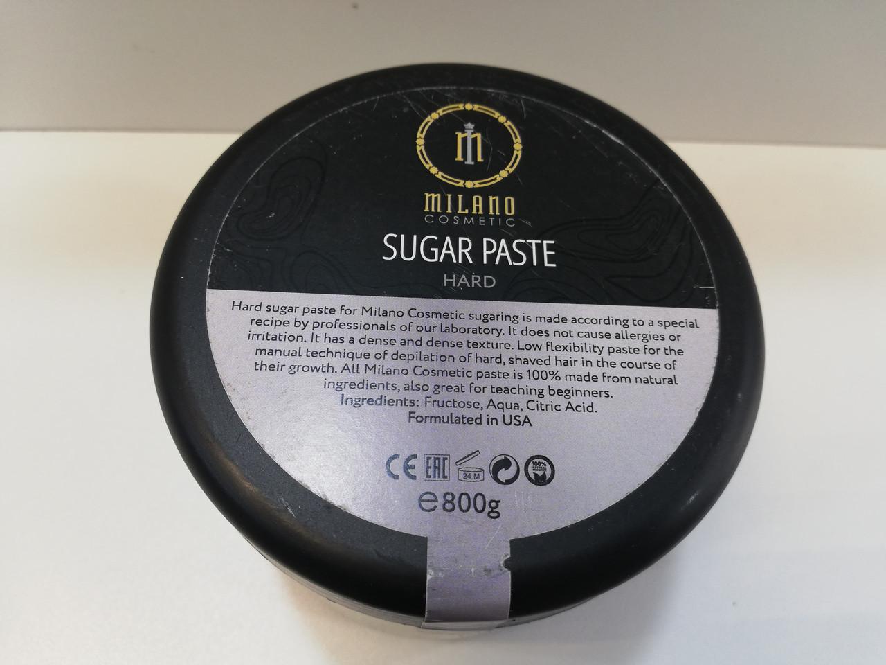 Сахарная паста Hard твердая Milano Cosmetic 800г