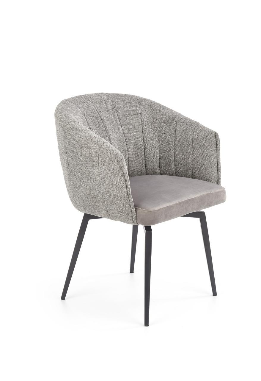 Кресло K-378 Halmar Серый