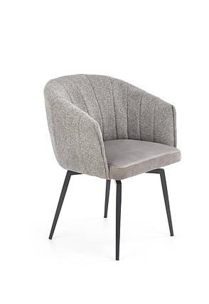 Кресло K-378 Halmar Серый, фото 2