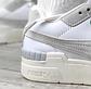 Жіночі кросівки Puma Cali Sport Mix Wn's (білі з бежевим) взуття демісезонне замшева К12154, фото 2