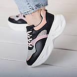 Кроссовки женские Fashion Qihai 2654 36 размер 23,5 см Черный, фото 10