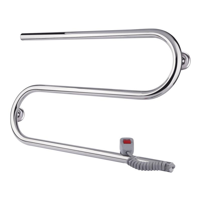 Полотенцесушитель электрический Qtap Snake (CRM) 600х330 RE