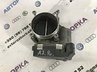 Дросельная заслонка Audi A7 4G 3.0L 2014 год (б/у) 06E133062G