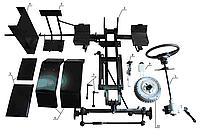 """Набір для переобладнання мотоблока в мінітрактор """"ПРЕМІУМ"""" (механічні гальма), фото 1"""