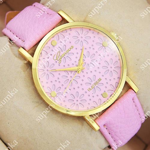 Молодежные наручные часы Geneva Pink/Gold/Pink 1075