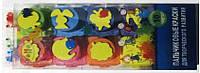 Краски пальчиковые,10 цветов 30 мл.с штампами