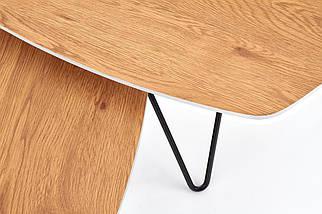 Журнальный столик комплект ZERO Halmar 75x75 / 56x56, фото 3