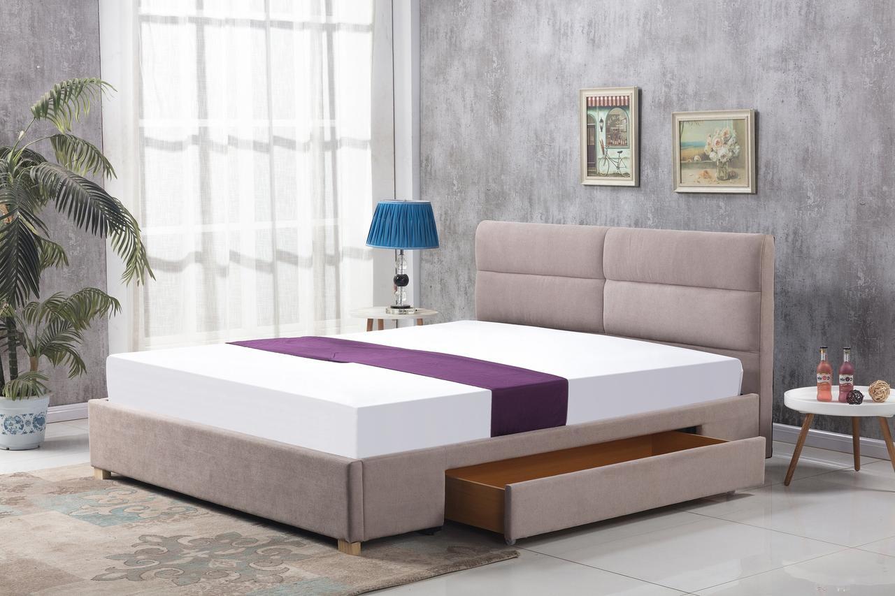 Кровать MERIDA Halmar 160x200 Беж