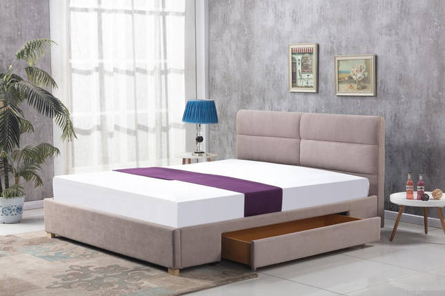 Кровать MERIDA Halmar 160x200 Беж, фото 2