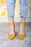 Туфли женские Fashion Caboose 2615 40 размер 25,5 см Желтый, фото 2