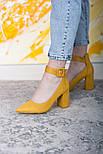 Туфли женские Fashion Caboose 2615 40 размер 25,5 см Желтый, фото 3