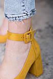 Туфли женские Fashion Caboose 2615 40 размер 25,5 см Желтый, фото 4