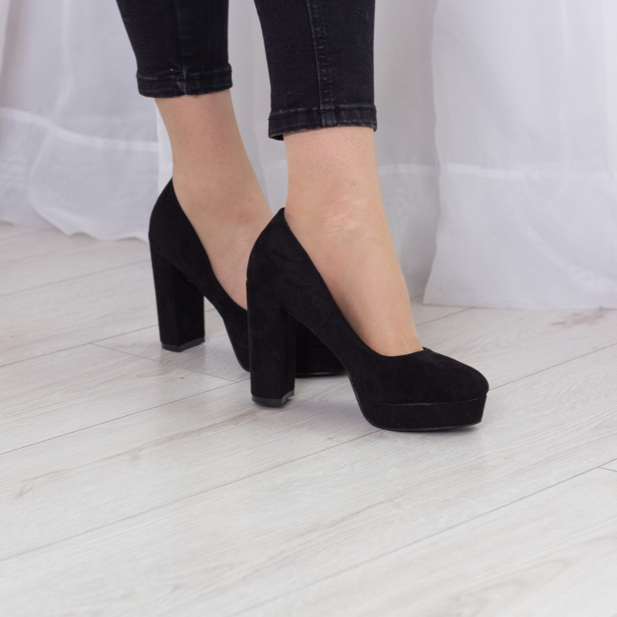 Туфли женские Fashion Chili 2504 36 размер 23 см Черный