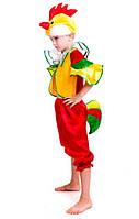 Дитячий карнавальний костюм Півень Півник для хлопчика 4-7 років Маскарадний костюм для дітей
