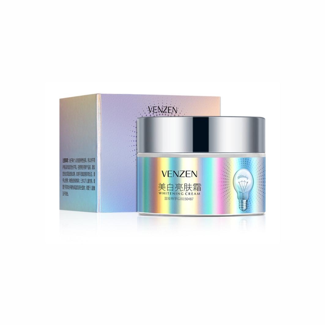 Крем для кожи лица с ниацинамидом Venzen Whitening Cream