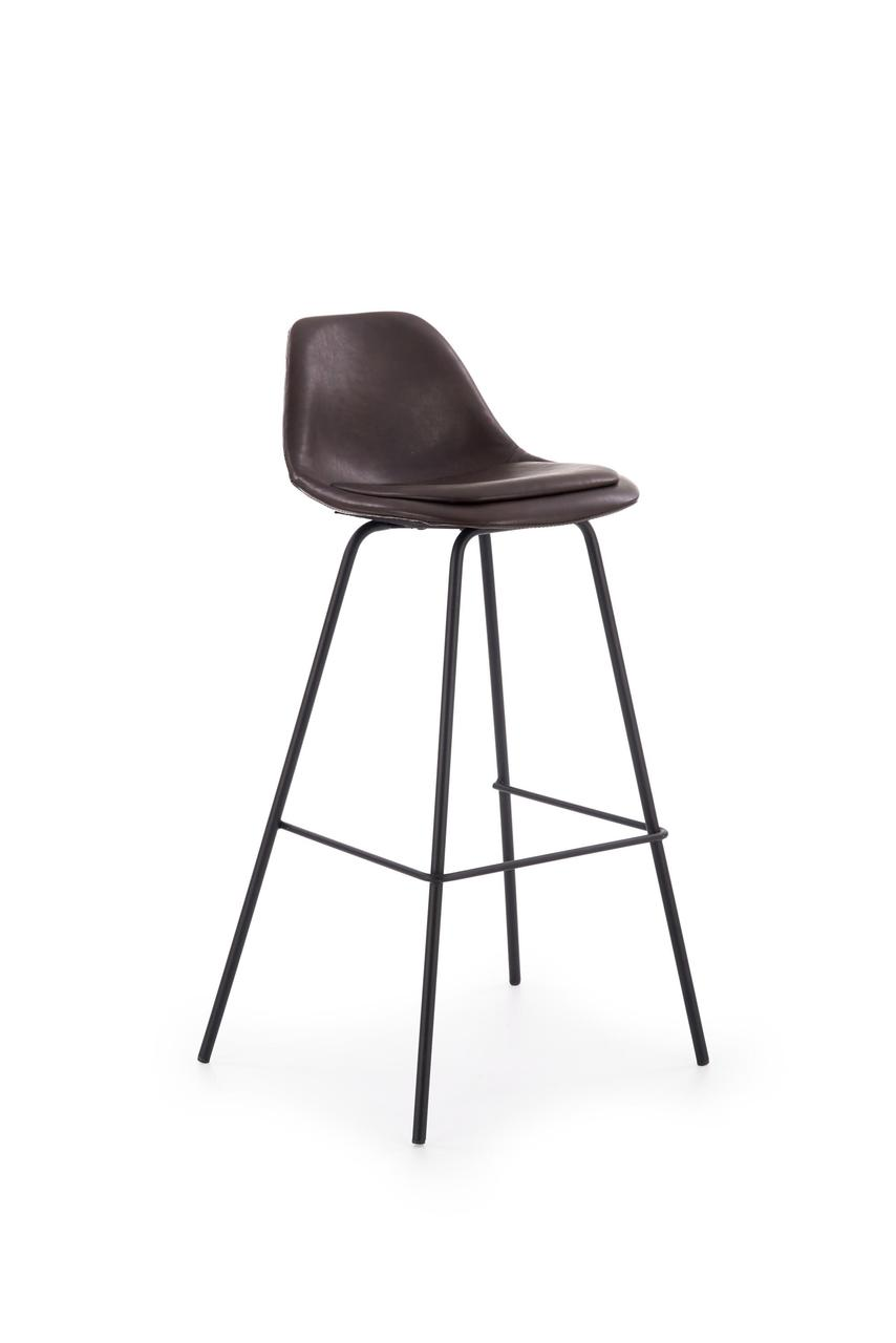 Барный стул H-90 Halmar Темно-коричневый