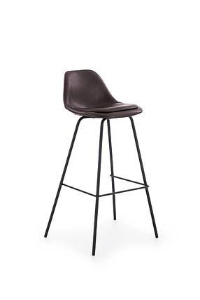 Барный стул H-90 Halmar Темно-коричневый, фото 2