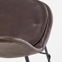 Барный стул H-90 Halmar Темно-коричневый, фото 3