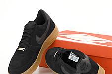 Чоловічі кросівки Nike Air Force 1 Low White/Black/Red, фото 3