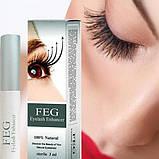Мощнейший стимулятор роста ресниц Feg Eyelash Enhancer, оригинал, фото 3
