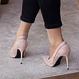Туфлі жіночі Fashion Guinness 2471 36 розмір, 23,5 см Бежевий, фото 2