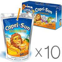 Сок капризон Capri-Sun Safari Fruits 10 шт х 200 мл