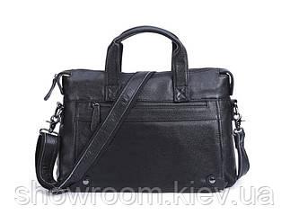 Мужская кожаная горизонтальная сумка Leather Collection (9947)