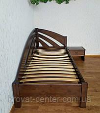 """Угловая детская кровать 90х200 из массива дерева от производителя """"Радуга"""" (левая), фото 3"""