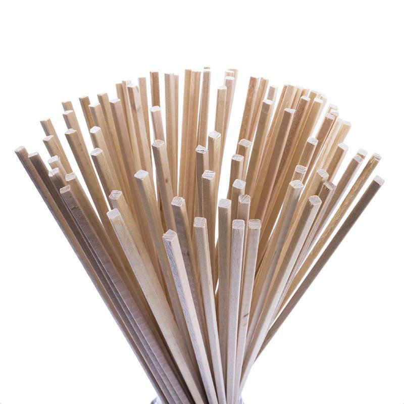 Палички для солодкої вати - від 100 шт З ПЕРЕДОПЛАТОЮ (400х5х5 мм)