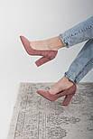 Туфли женские Fashion Lexis 2604 37 размер 24 см Розовый, фото 3