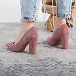 Туфли женские Fashion Lexis 2604 37 размер 24 см Розовый, фото 4