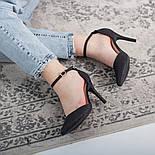 Туфли женские Fashion Quana 2612 36 размер 23,5 см Черный, фото 9