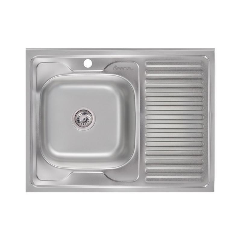 Кухонна мийка Imperial 6080-L Polish (IMP6080L06POL)