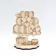 Фигурка для декора Сладости из фанеры на подставке  Идейка