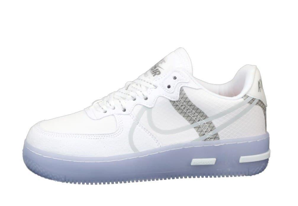 Мужские кроссовки Air Force 1 Low React White/Gray